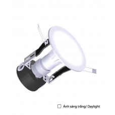 Đèn LED Downlight 5W daylight 3.5 inch chụp phẳng mờ