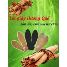 Lót giày vải  sợi  bông Hương Quế