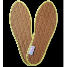 Lót giày quế vải cotton