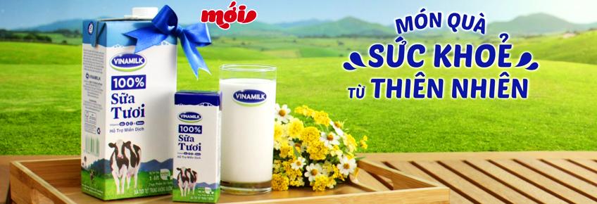 Sữa tươi Vinamilk - vì sức khỏe của bạn !
